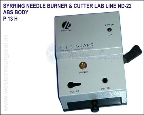 Syrring Needle Burner & Cutter LAB LINE ND-22 - ABS BODY