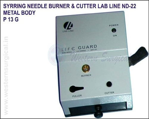 Syrring Needle Burner & Cutter LAB LINE ND-22 - METAL BODY