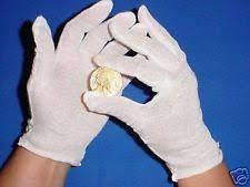 money handling gloves