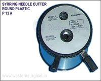 Syrring Needle Cutter Round Plastic