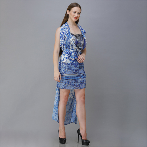 Ladies Designer Printed Dress