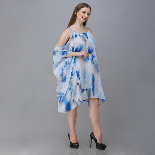 Ladies Tie And Dye Dress