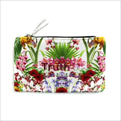 Ladies Printed Hand Pouch