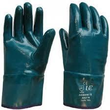 metal handling gloves