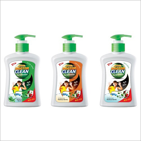 Doctor clean hand wash