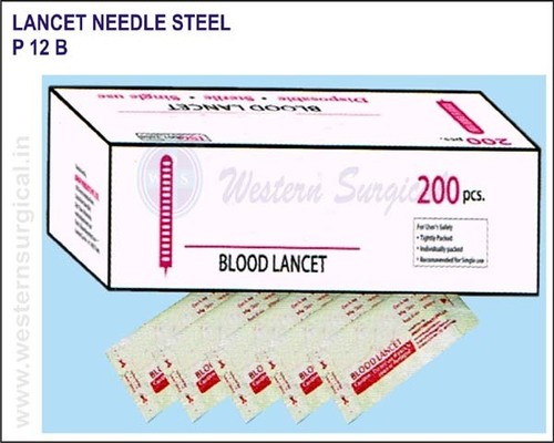 Lancet Needle Steel