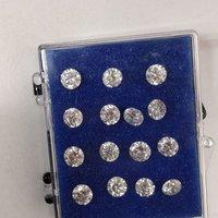 Cvd Diamond 3.40mm DEF VVS VS Round Brilliant Cut Lab Grown HPHT Loose Stones TCW 1