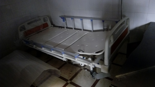 UMS- 717 Hospital Manual Fowler Bed