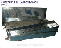 Cidex Tray 2 in 1 Lapro / Urology