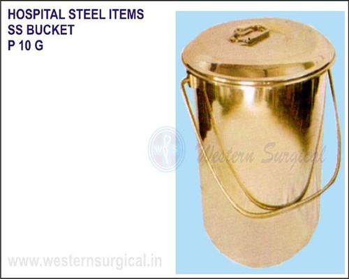Hospital Steel Items - SS Bucket