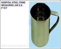 Hospital Steel Items - Measuring Jar S.S.