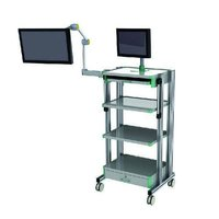 UMS-807 SS Monitor Trolley