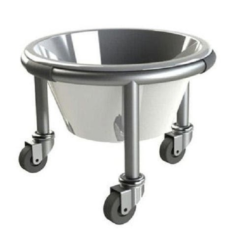 UMS-789 SS Basin Stand (Small Size) Kick Bucket