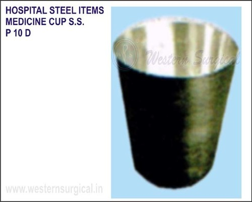 Hospital Steel Items - Medicine Cup S.S.