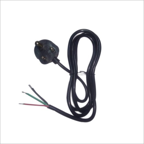 Three Pin Power Supply Cord