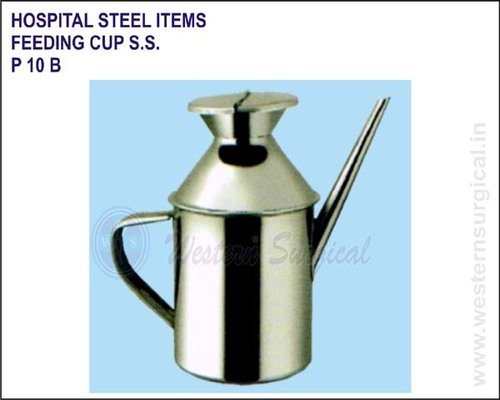 Hospital Steel Items - Feeding Cup S.S.