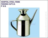 Hospital Steel Items - Feeding Cup S.S.