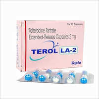 2 mg Tolterodine Tartrate Extended Release Capsules