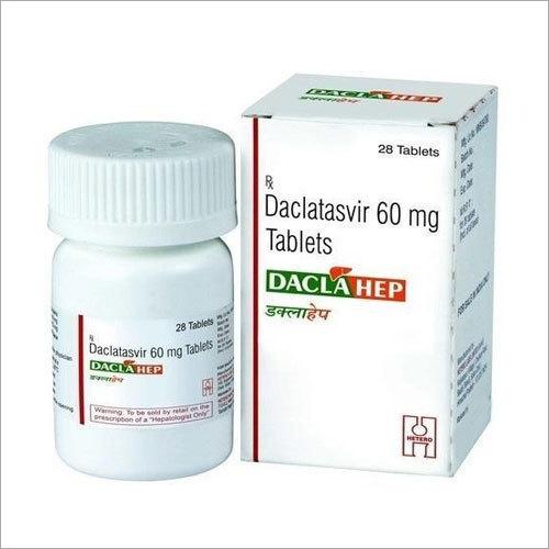 60 mg Daclatasvir Tablets
