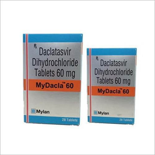 60 mg Daclatasvir Dihydrochloride Tablets  Mydacla