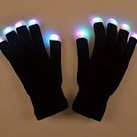 lighting gloves