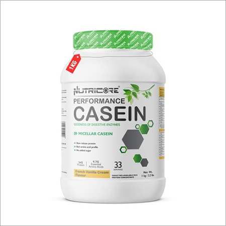 NUTRICORE MICELLAR CASEIN PROTEIN (French Vanilla Cream) 1 KG