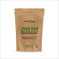HealthOxide Pure Raw BCAA 100% Powder Pre/Post Workout Supplement - 250 Gms