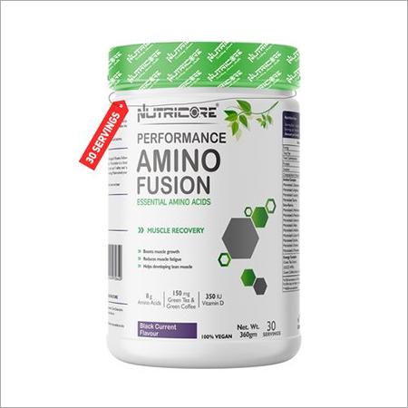 360 gm Black Current Flavour Amino Fusion Powder
