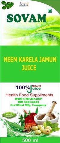 Neem Karela Jamun Juice Rs 60 / LitreGet Latest Price