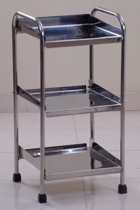 UMS-768 SS Instrument Trolley