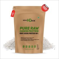 Health Oxide Pure Raw Micellar Casein Protein 80% (Raw & Unflavored / 24 G Protein Per Serving) - 1 kg