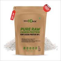 HealthOxide Pure Raw Micellar Casein Protein 80% (Raw & Unflavored / 24 G Protein Per Serving) - 500 gm