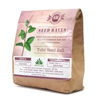 Seed Balls Just Throw & Grow (Thulasi Seed Balls) Tree Seed Balls Pack 100 Balls