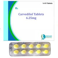 Carvedilol 6.25 Mg Tablets