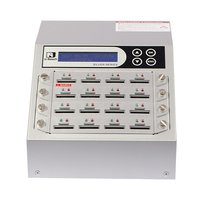 Intelligent 9 Silver Series - 1 to 15 SD / microSD Duplicator and Sanitizer (SD916S)