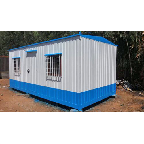 Rectangular Portable Office Cabins