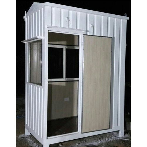 Steel Security Guard Booth