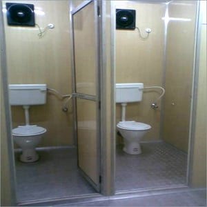 Ready Made MS Toilet Cabins