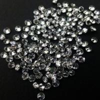 Cvd Diamond 1.25mm DEF VS SI Round Brilliant Cut Lab Grown HPHT Loose Stones TCW 1