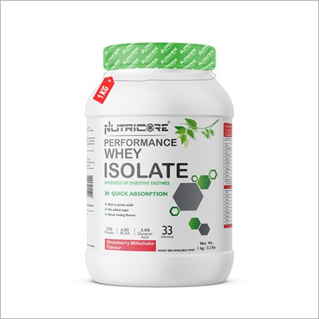 Whey Isolate Strawberry Milkshake 1KG