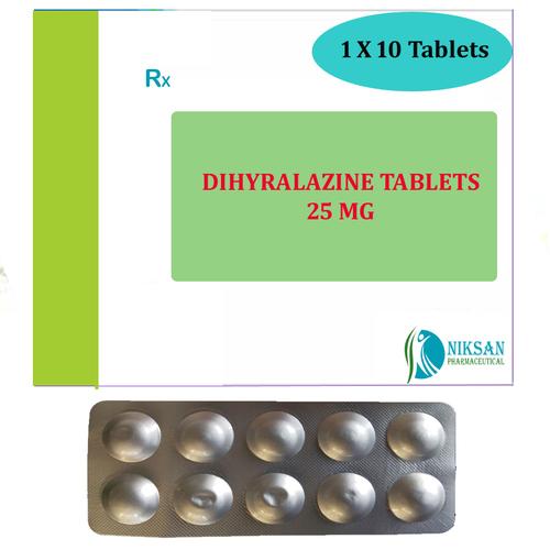 Dihydralazine 25Mg Tablets