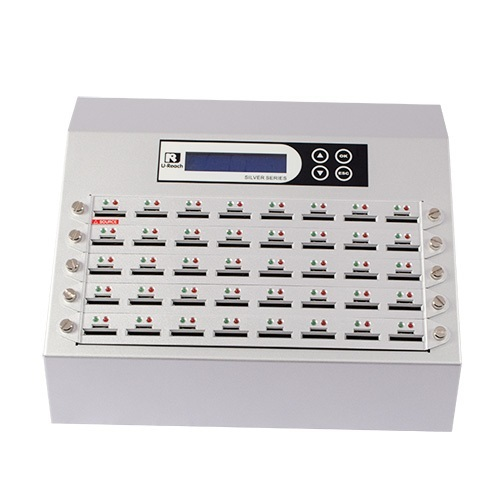 Intelligent 9 Silver Series - 1 to 39 SD / microSD Duplicator and Sanitizer (SD940S)