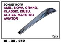 Bonnet Motif  Amb, Nova, Grand