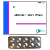 Diloxanide 500Mg Tablets