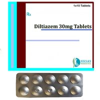 Diltiazem 30Mg Tablets