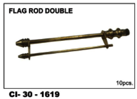 Flag Rod Double