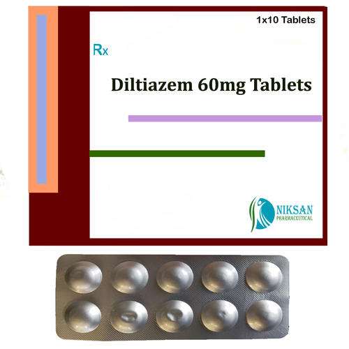 Diltiazem 60Mg Tablets