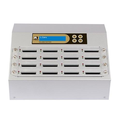 Intelligent 9 Golden Series -  1 to 15 CF Duplicator and Sanitizer (CF916G)