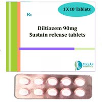 Diltiazem 90Mg Sustain Release Tablets