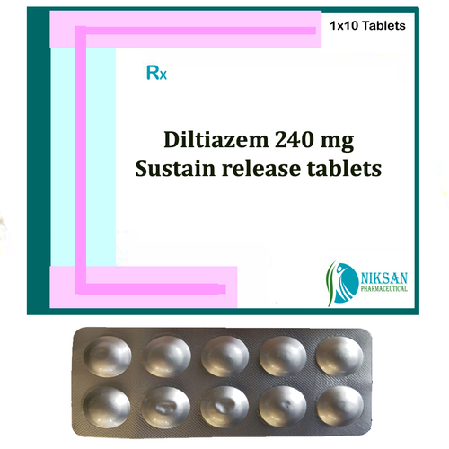 Diltiazem 240 Mg Sustain Release Tablets